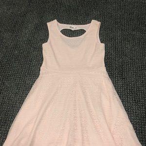 semi formal girls light pink dress size 10
